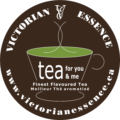 Victorian Essence Tea For You and Me Logo
