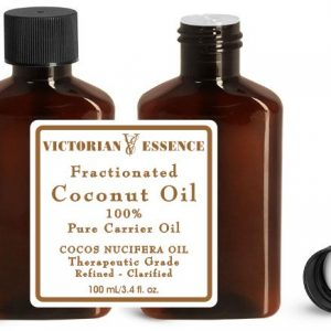 Fractionated coconut oil our preferred Essential Oil Carrier for relaxation and massage therapy