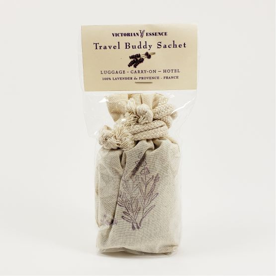 French Lavender Dried Flower Buds in Travel Buddy Sachet