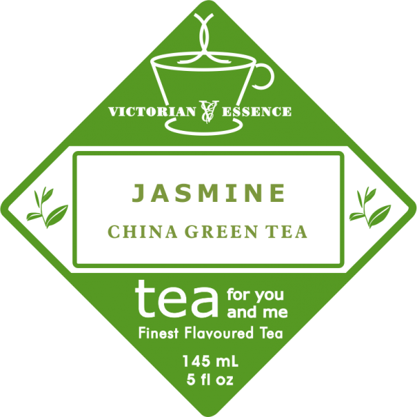 Label of our Jasmine Green Tea