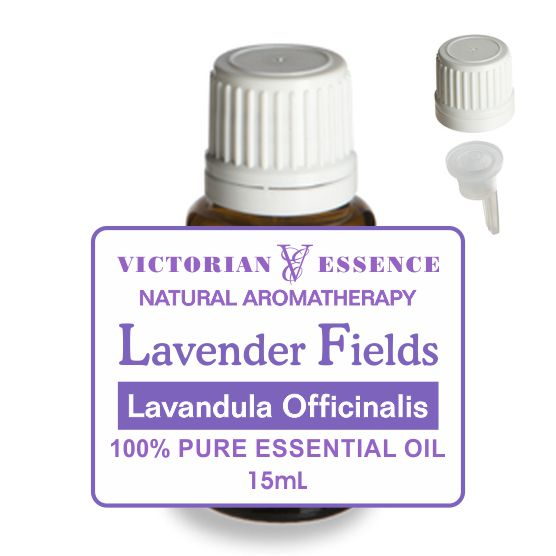 Lavender Fields Essential Oil in 15 mL bottle