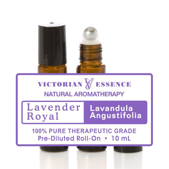 Lavender Royal in 10 mL Roll-On bottle for Stress Relief
