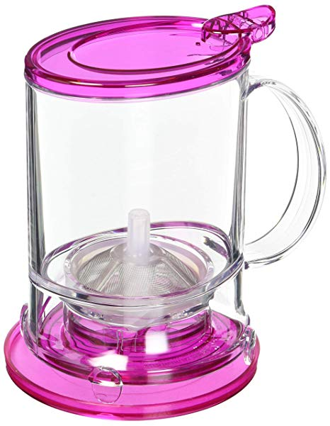 Perfect Tea Maker Pot Pink Fuchsia