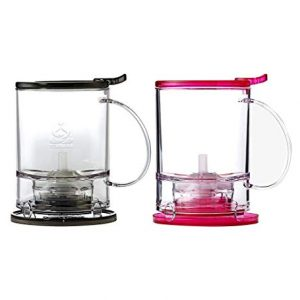 Perfect Tea Maker Pots in Charcoal Grey or Pink Fuchsia