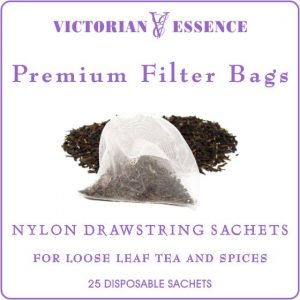 Premium Tea Filter Bags with Drawstring