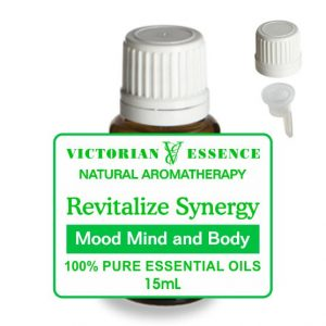 Revitalize Mood Mind and Body Synergy Blend of Essential Oils in 15 mL bottle