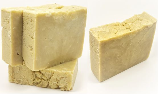 Our Freshly Made Castile Body Soap Multi Bars and Single Bar, scented with our premium Lavender essential oil.