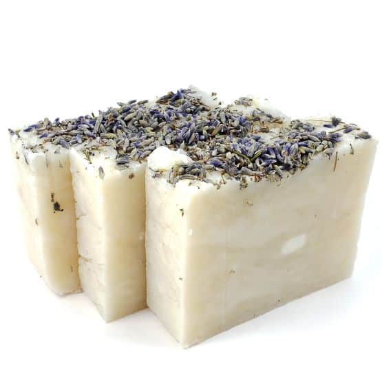 Our Freshly Made 100% Natural Multi Body Soap Bars, scented with our premium Lavender essential oil.