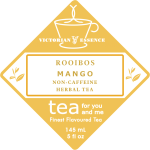 Mango Rooibos Tea Label
