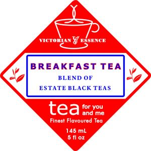 Label of our Breakfast Black Tea