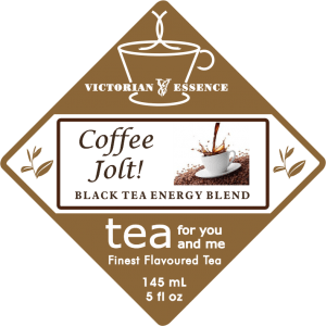 Label of Coffee Jolt Black Tea